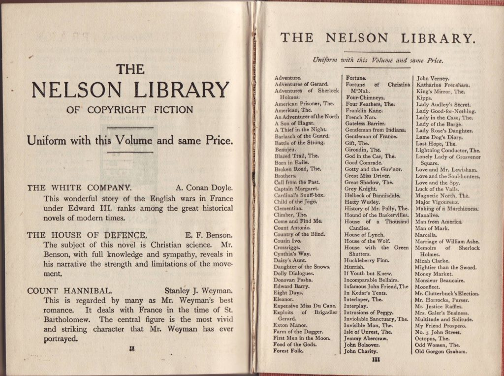 nelson_novels_1910a_titles