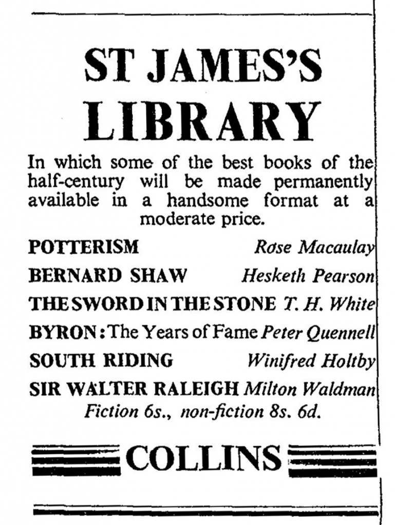 st_james_lib_ad_Times_London_Oct23_1950 copy