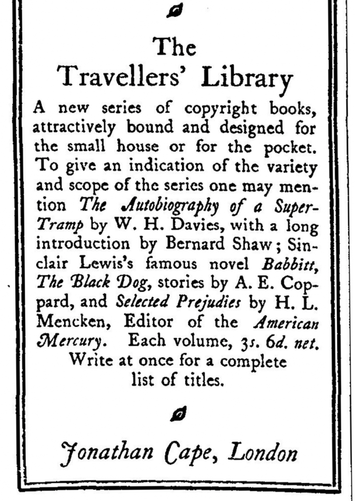 travellerslib_advert_Aug20_1926